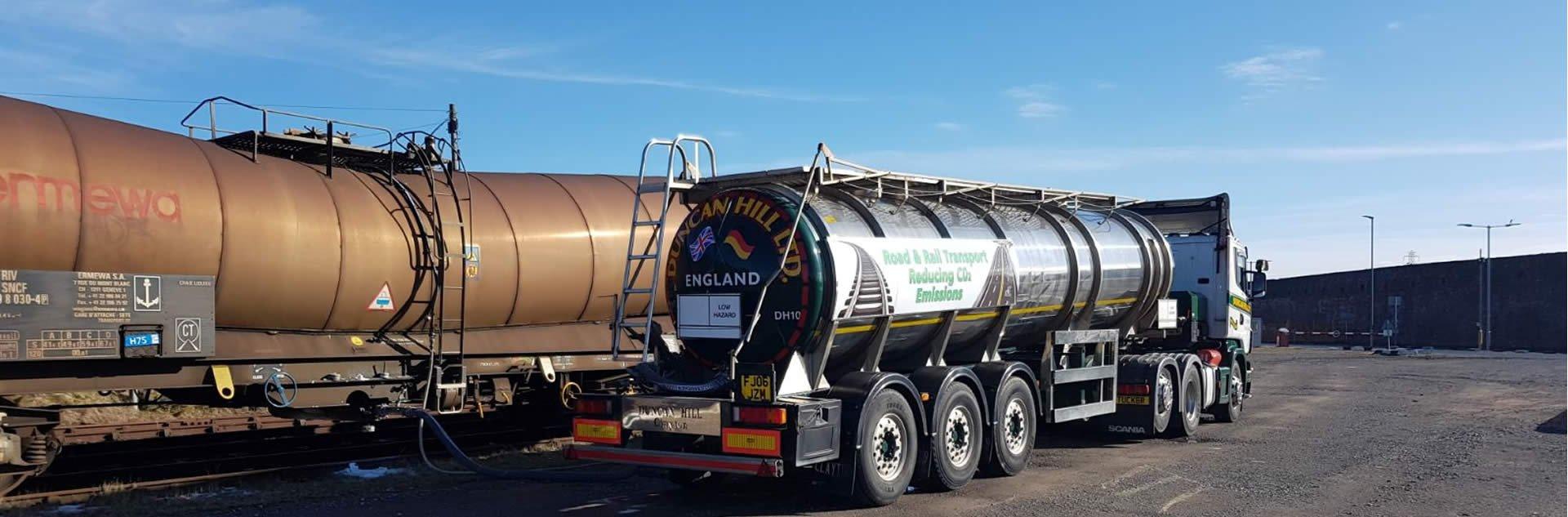 Bulk Liquids Transport | Duncan Hill Road Haulage Contractor