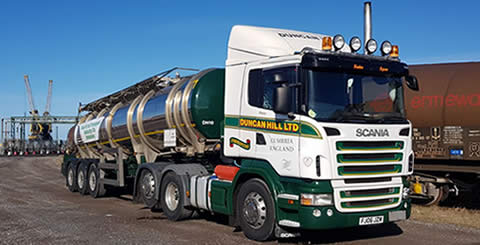 Duncan Hill Bulk Liquids Transport