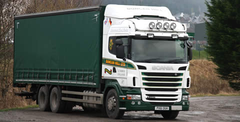 Dry Freight Hauliers Cumbria