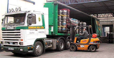 Duncan Hill Dry Freight Hauliers